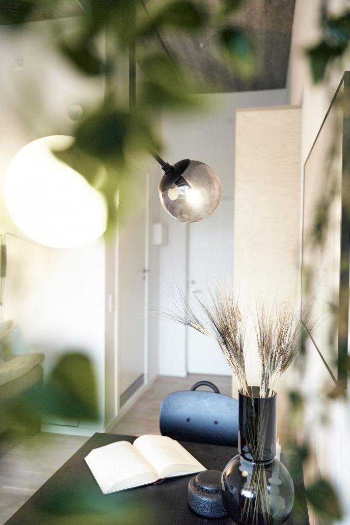 Kig mod indgang - PFA Kollegiet Aalborg